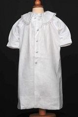 Irish Linen Baptism Coat